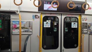 JR西日本大阪環状線323系走行音(西九条→野田)JR West Osaka Loop Line 323 Series (Nishikujyou to Noda)