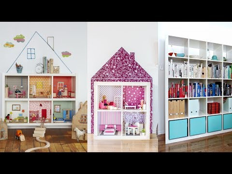20 DIY IKEA Kallax Shelves Hacks You Could Try