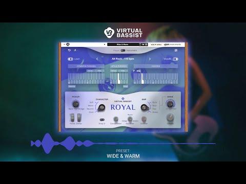 UJAM Instruments Preset Show – Virtual Bassist ROYAL as Rack Extension