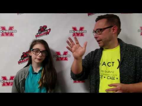 React to Bullying Rewards Kindness at McGary Middle School