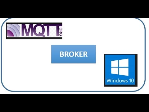 MQTT Broker for Windows 10 ,,( Download and Start)_v2017