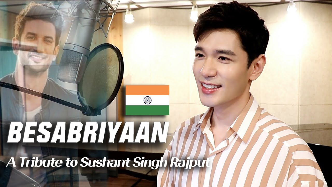 Besabriyaan (A Tribute to Sushant Singh Rajput) | A Korean TV Host singing in Hindi - Travys Kim
