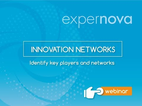 [Webinar] Innovation Networks: Identify key players and networks
