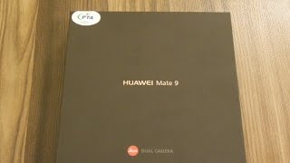 Huawei Mate 9 | Unboxing | Mocha Brown