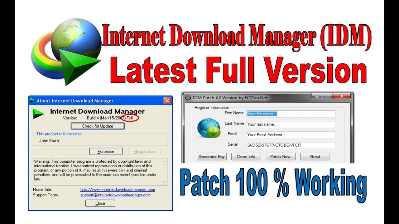 internet download manager free key generator