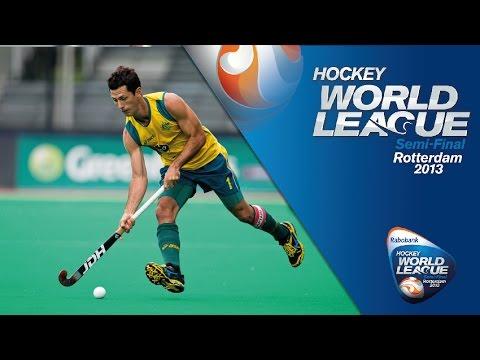 Australia Vs India Men's Hockey World League Rotterdam Quarter-Finals [19/6/13]