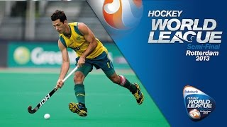 Australia vs India Men's Hockey World League Rotterdam Quarter-Finals [19/6/13]