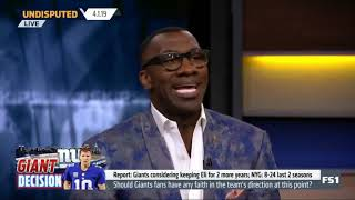 Undisputed  Skip Bayless DISAGREEMENT that the Duke freshmen losing is good for the game