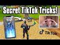 Testing *SECRET* TikTok Life Hacks In Fortnite! : THEY WORKED!