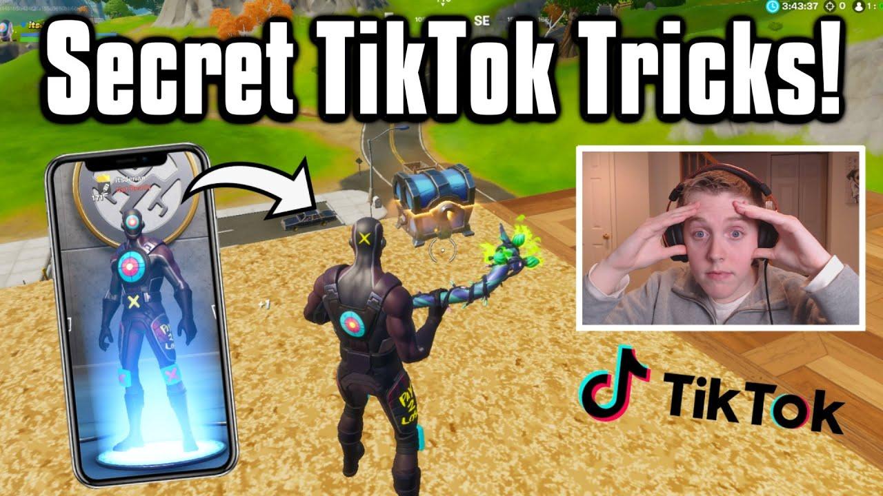 Testing Secret Tiktok Life Hacks In Fortnite They Worked Youtube