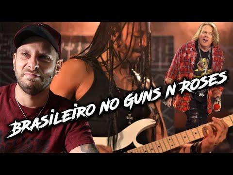 Era para o MARCELO BARBOSA ser GUITARRISTA do GUNS N´ ROSES