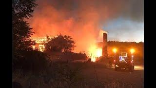 Incendio fábrica El Perdigón 11-ago-2017