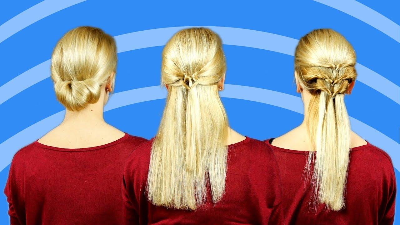 9 Geniale Frisuren Für Feine Haare Youtube