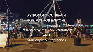 Astronomy outreach at the V&A Waterfront, Cape Town