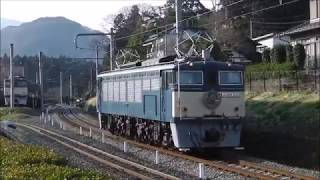 碓氷峠鉄道文化むら EF63 24 (2019/3/28)