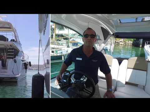 Joystick Docking Demo with Capt Kevin! 2013 Four Winns V435
