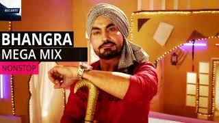 Punjabi Bhangra Mashup 2018  | Non Stop Bhangra remix Songs | Latest Punjabi Songs 2018