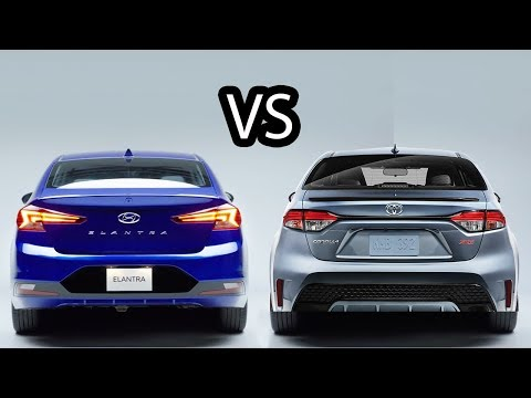 2020 Toyota Corolla Vs 2019 Hyundai Elantra - Which car is better?