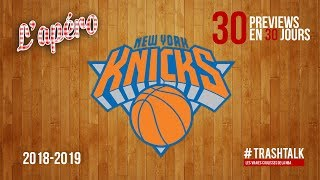 NBA Preview 2018-19 : les New York Knicks
