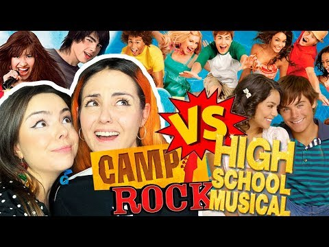 HSM VS CAMP ROCK | Andrea Compton Ft Berry
