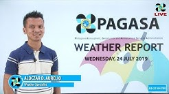 Public Weather Forecast Issued at 4:00 PM July 24, 2019