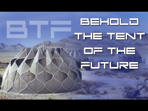 Foldup Tent Collects Solar Power And Harvests Water - BTF
