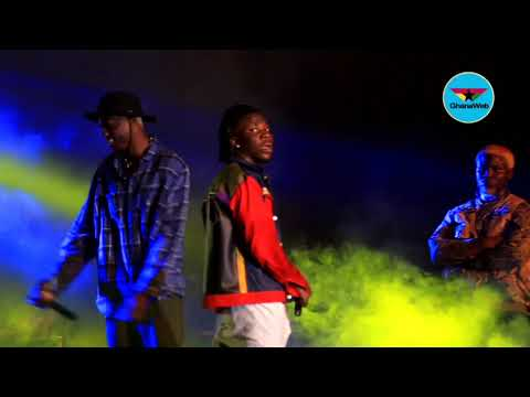 Joey B performs with Stonebwoy at Bhim concert