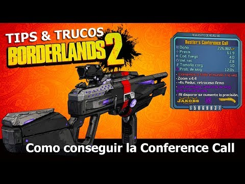 Borderlands 2 | Remastered | Tips & Trucos | Como conseguir la Conference Call