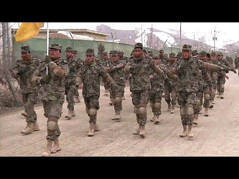 Afghan National Army Basic Training – Afghan Train To Become Soldiers