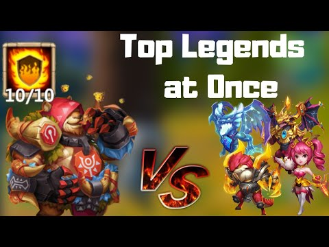 Jumbear Vs Top Legends | All At Once | New Beast On The Block