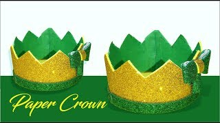 Very Easy way to make a paper crown for kids - Tuber Tip