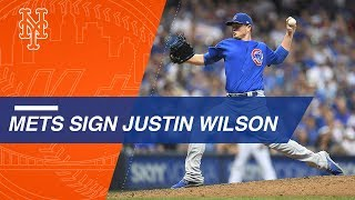 Lefty reliever Justin Wilson signs with the Mets