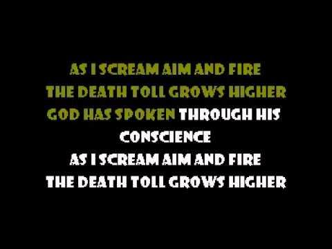 Scream Aim Fire - Bullet for my Valentine Karaoke