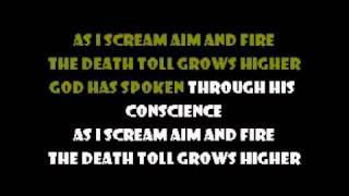 Scream Aim Fire - Bullet for my Valentine Karaoke