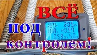 Прибор мониторинга и учёта электроэнергии. Сколько жрёт дом?) Электросчётчик.