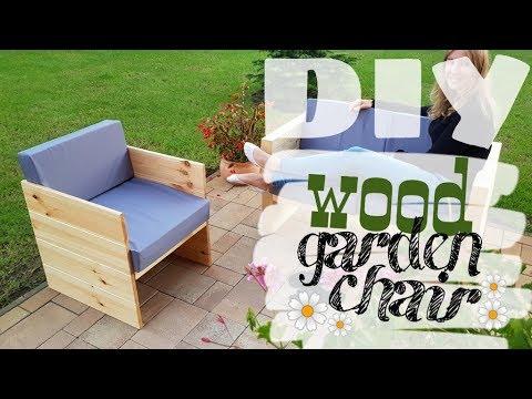 DIY - modern outdoor chair