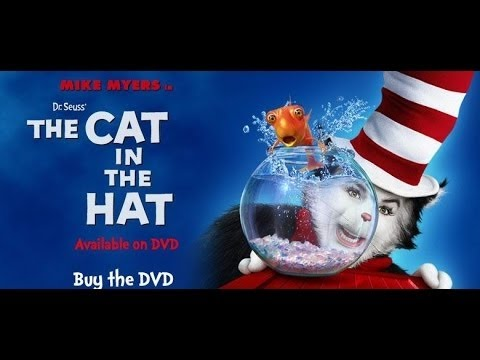 Dr Seuss The Cat in the Hat 2003 - Mike Myers, Spencer Breslin, Dakota Fanning, Mortgage.