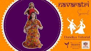 5 Easy Steps To Dandiya   Navaratri Special   Festivals 2020