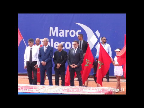 2017 Maroc, Marrakech, Tennis, Photos Souvenir du 33 ème Grand Prix Hassan II, by HabariSalam