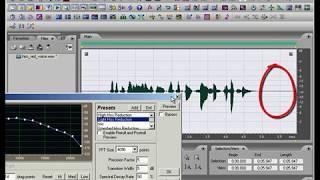 55. Устройство эффекта Hiss Reduction в Adobe Audition | Auditionrich.com