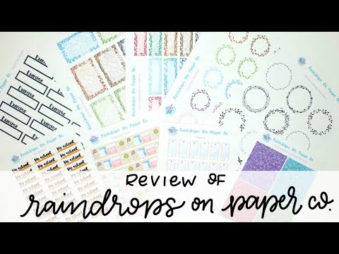 Review of Raindrops on Paper Co.