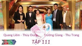 Trường Giang  - Thu Trang và Quang Liêm - Thùy Dung   VỢ CHỒNG SON   Tập 111   150920