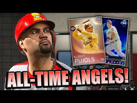 ALL-TIME ANGELS SQUAD!! MLB THE SHOW 18 DIAMOND DYNASTY