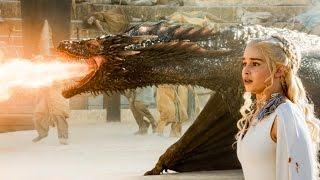 Drogon Rescues Daenerys Targaryen - Game of Thrones Season 5 Episode 9 - S05E09
