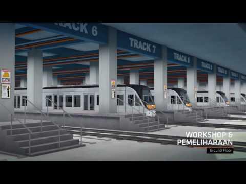 Progress Rencana Pengembangan LRT DKI Jakarta
