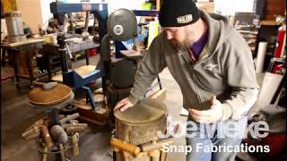 Stump and Shrink metal shaping