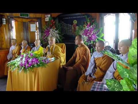 Cung Thi Thuc Phong Sanh  Quy Y cho Vong Linh Tren Song Bach Dang 2014
