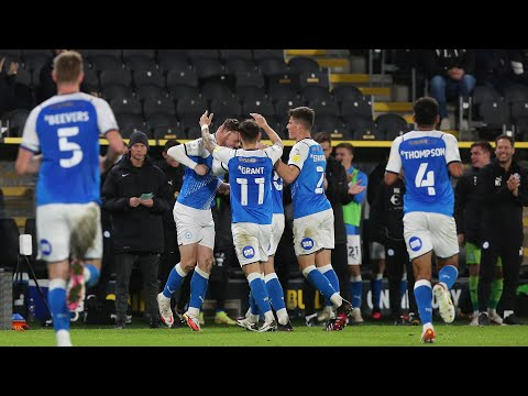 Hull Peterborough Goals And Highlights