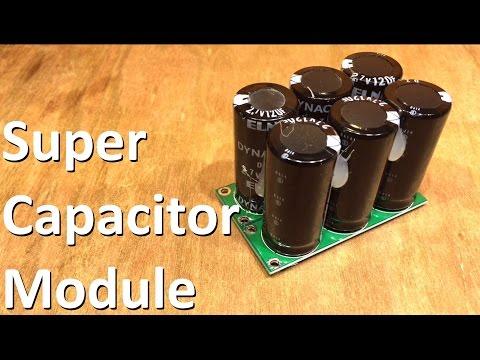 Super Capacitor Module - 12v Solar Shed