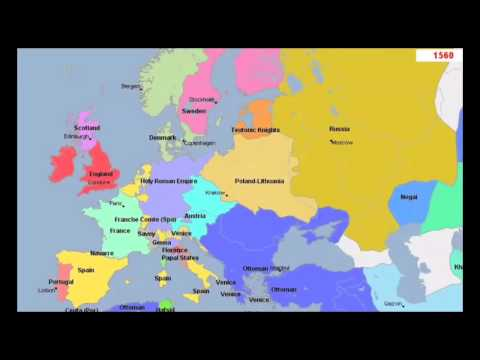 The Animated History of Europe